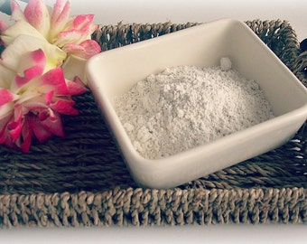 White Kaolin Clay face mask, Face Mask Skincare, Natural cosmetics, Pure Vegan