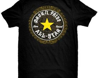 Brown Pride Allstar Mexican T-Shirt