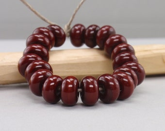 25 % off - 20 Spacer - Handmade Lampwork Beads - S 77