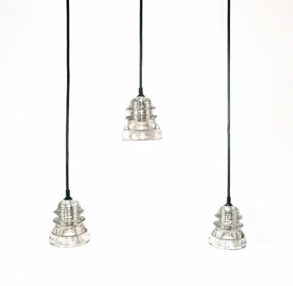 The original insulator pendant light by divinediscoveries for Antique insulator pendant lights