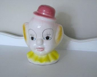 Vintage Bank - Happy Elf - Piggy Bank- Japan - 1950 - Retro Elf Bank - Pixie Clown - Shelfie