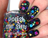 Surprise Me :  Custom-Blended Glitter Nail Polish / Indie Lacquer