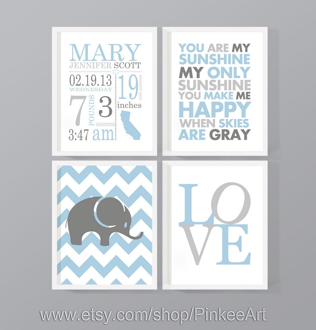 Birth stats subway art personalized baby prints custom birth zoom negle Gallery