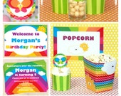 Rainbow Birthday - Rainbow Party - Rainbow Birthday Printables - Rainbow Party Printables - Birthday Decorations (Instant Download)