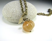 Thanksgiving Necklace Fall Necklace Autumn Necklace Pumpkin Necklace Thanksgiving Jewelry Fall Jewelry Autumn Jewelry Pumpkin Jewelry