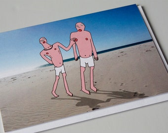 Funny Quirky Greeting Card, Funny Romantic, Valentine Card ,  Valentine's, Funny valentine, Love, Naughty Card,  Cheeky Card - NIPPLE PINCH