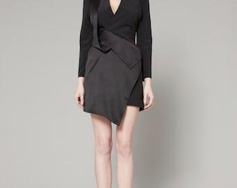 SALE 40% - V-neckline Layered Dress