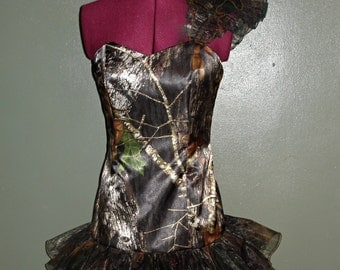 CAMO Dress - Made To Order - Camo Mini Dress