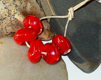 BHG  Scarlet faceted nuggets