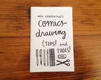 Mini zine: Miss Sequential's Comics Drawing Tips and Tools