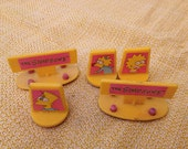 Set of 5 Simpson's Rubber Stamps from teh early 90's