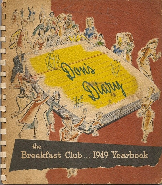Don's Diary The Breakfast Club 1949 Yearbook - Don McNeill - 1949 - Vintage Humor Book
