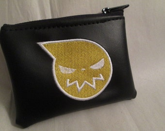 Soul Eater inspired coin purse/wallet