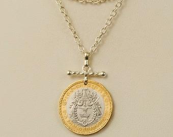 Cambodia Coin Necklace 1994