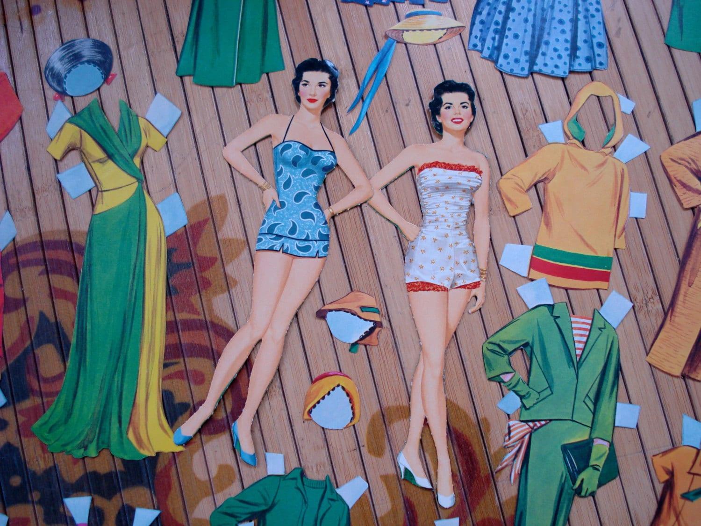 Vintage 1950s Paper Dolls Natalie Wood 2013482