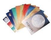10 Solar System Postcards, Planets include Mercury Venus Earth Mars Jupiter Saturn Uranus Neptune Dwarf Planets with Pluto and Mosaic Card