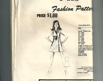 Fashion Pattern Dress Pattern F625
