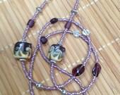 Purple Beauty Eyeglass Chain