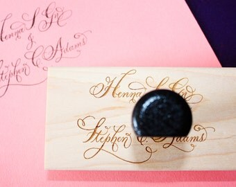 Names Calligraphy Stamp - Extra Large