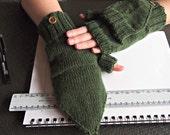 Flip Top Cabrio Handschuhe jetzt mit Knopf und Schlaufe - individuelle Massanfertigung