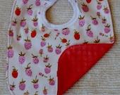 Strawberry bib