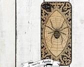 Vintage Spider Phone Case for  iPhone 4 4s 5 5s 5c SE 6 6s 7  6 6s 7 Plus Galaxy s4 s5 s6 s7 Edge