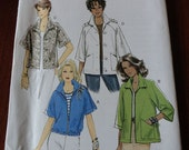 Butterick 5648 Misses Jacket with Waist and Sleeve Variations size 8-16 UNCUT