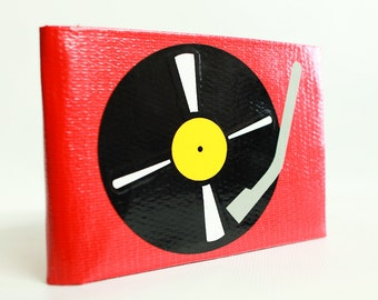 Turntable Duct Tape Wallet - by jDUCT