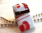 Red and White Alaskan Valentine Hearts
