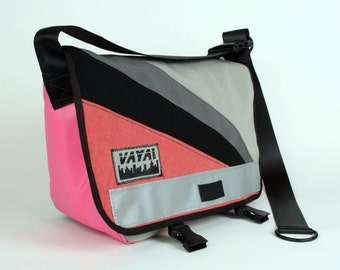 Watermelon Burst - Petite Messenger Bag