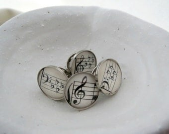 Choose your Music Pin Treble or Bass Clef