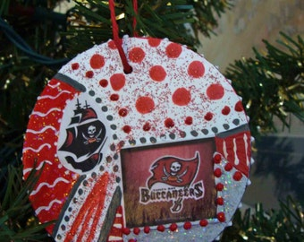 Tampa Bay Bucs Ornament - What every fan should have