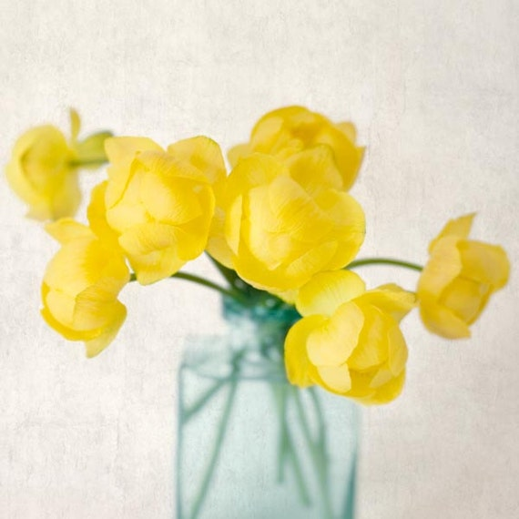 Flower Photography, Still Life, Spring Flower Photo Print, Floral Art Print, Cottage Chic Decor, Nature Wall Art