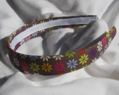 Winter Floral Printed Headband Hair Band LAST ONE