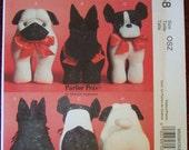McCall's Pattern: Crafts M5258 Pedigree Parlor Pets, Uncut, Factory Folded
