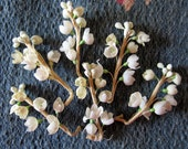 Vintage Millinery Lily of the Valley Sprigs