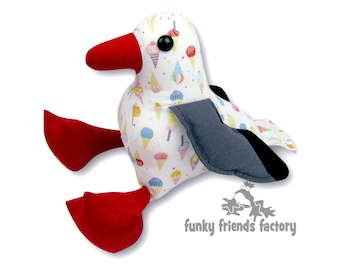 Sandy Seagull Sewing Pattern PDF INSTANT DOWNLOAD