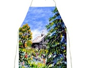 My Custom Art Printed on Full Sized Aprons by Ave Hurley