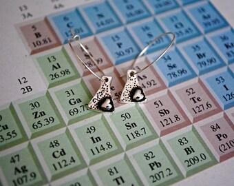 Erlenmeyer Flask Earrings