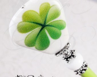 Four Leaf Clover Lucky Hair Stick