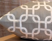 Add Personalization - DESIGNER Pet Bed Duvet Cover - Stuff with Pillows - YOU Choose Fabric - Gotcha Storm Grey/White shown