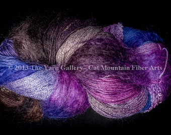 Cat Mountain Fiber Arts Fusion Yarn - 500 Yards Ancient Mariner, Plus Free Pattern