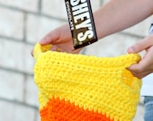 Boutique Crochet Candy Corn Trick or Treat Bag Pattern