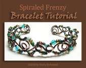 Spiraled Frenzy Annealed Copper Wire Bracelet Tutorial