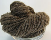Handspun Exotic, Luxury Yarn -- Bodacious Blend -- Qiviut/Bison, .9 oz/49 yards
