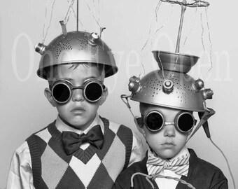 Strange Space Children Reproduction Vintage Photograph 8 x 10