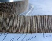 5/8 Gold Brown Varigated Sheer Shimmer Ribbon