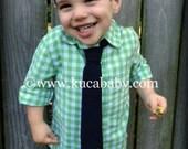 RESERVED FOR N. SNIDER St. Patrick's Day Toddler Necktie