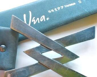Vera Neumann Belt - Vintage 1960's Super Hero X Buckle