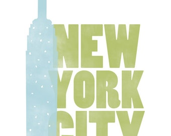 New York City Empire State Print
